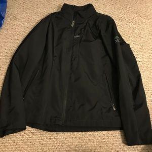 T-Tech by Tumi Med Jacket Full Zip Black